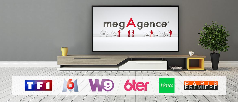 megAgence revient à la TV en 2018