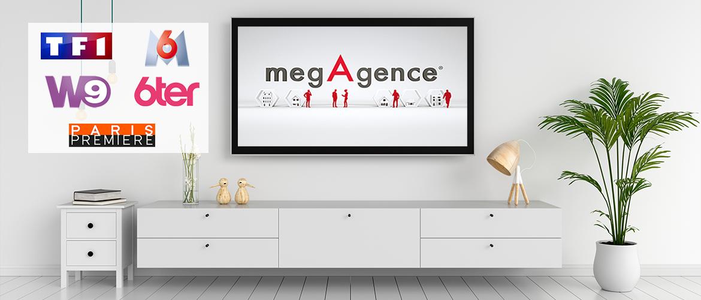 megAgence revient une nouvelle fois sur le petit écran !