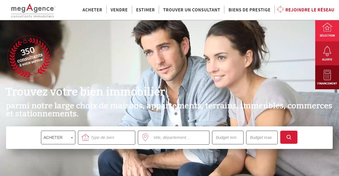 Le site web megagence.com fait peau neuve !