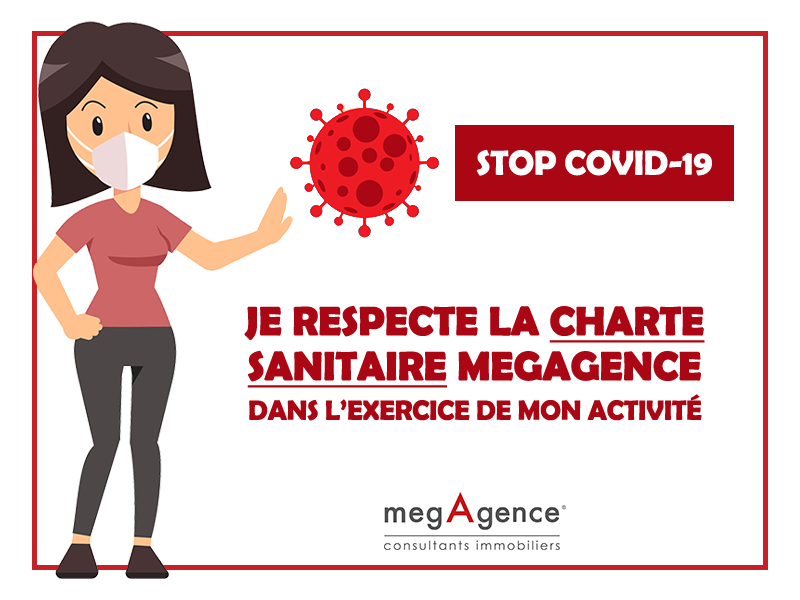 megAgence met en place une charte sanitaire pour protéger ses clients