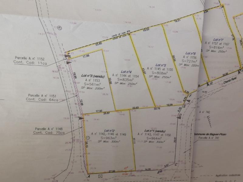 Achat terrain cherrueix 35120 816m megagence for Achat de terrain financement